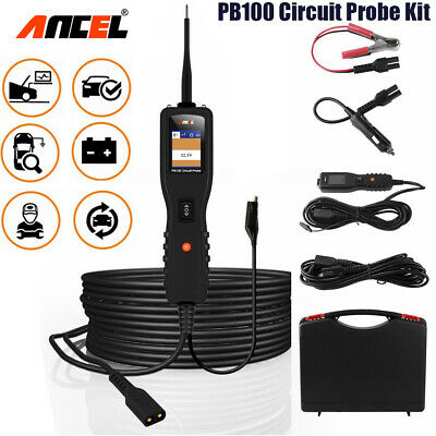Automotive 12V 24V Power Probe Circuit Tester Battery Electrical Powerscan Tool