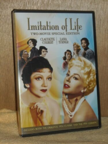 Imitation of Life - Two Movie Collection (DVD, 2012, 2-Disc Set, Two-Movie) NEW