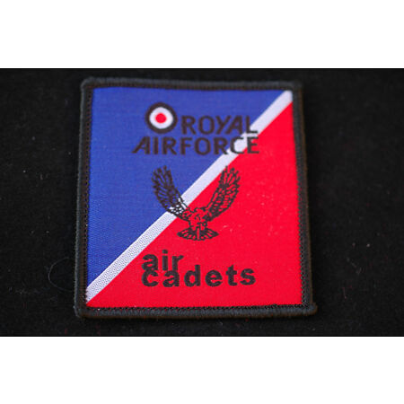 img-Royal Air Force - Air Cadets - TRF Flash Sew On Patch - No334
