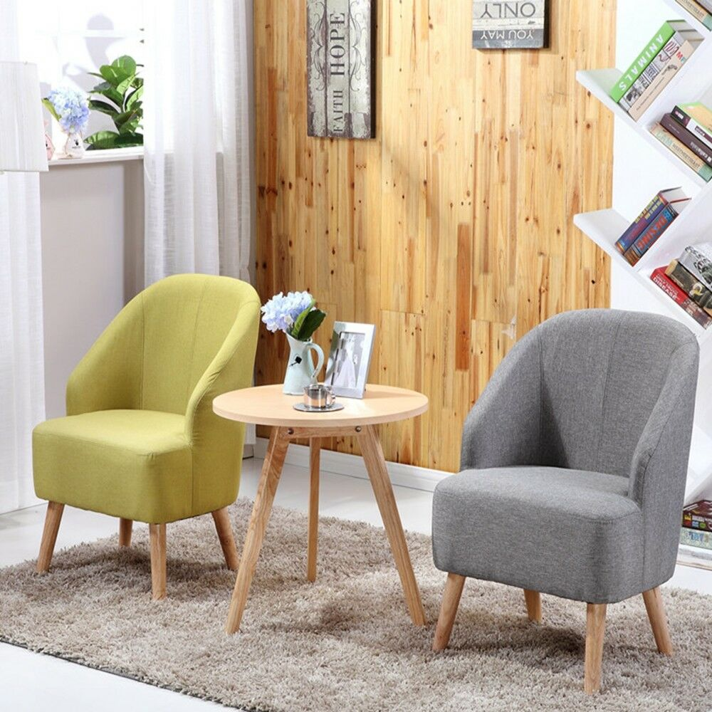 Free Interior Small Accent Chairs For Bedroom For Comfy: Elegant Design Fabric Leg Arm Club Chair Accent Chairs
