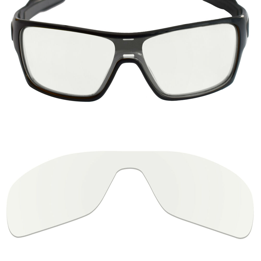 452833120ada8 Details about MRY Replacement Lenses for-Oakley Turbine Rotor Sunglasses HD  Clear