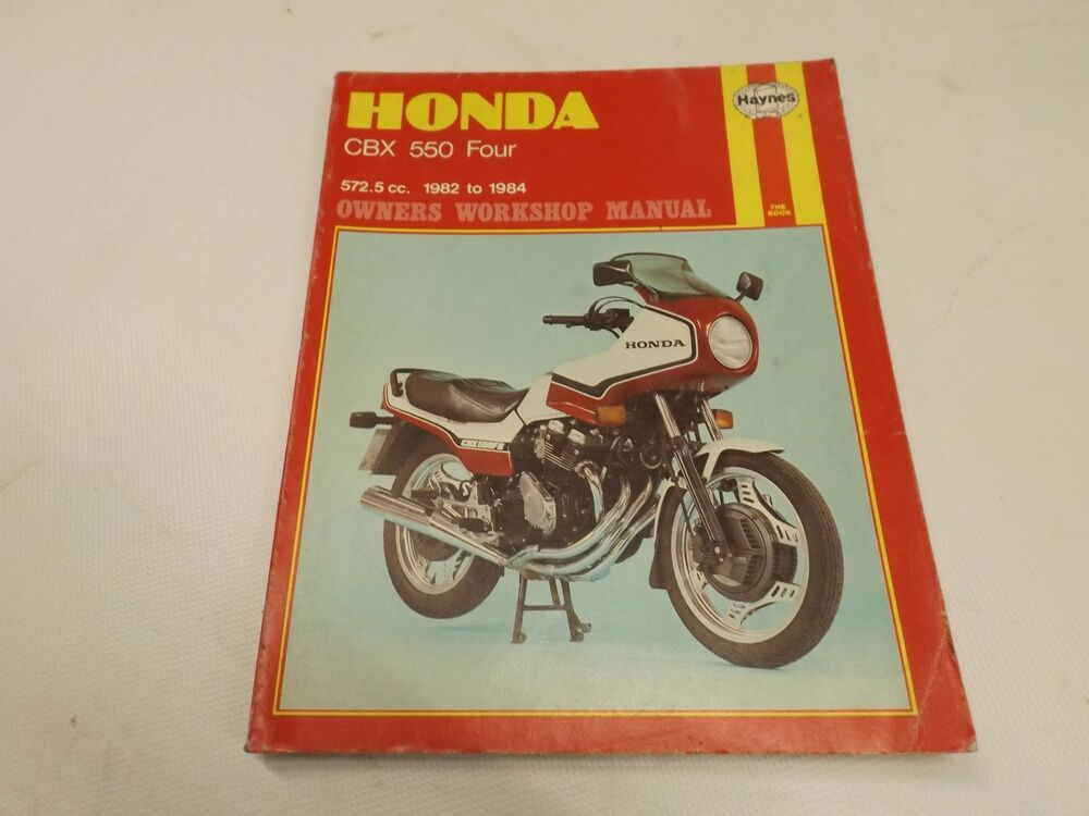 honda cbx 550 four 1982 1984 motorcycle manual ebay rh ebay co uk Honda CBX 1100 6 Cylinder honda cbx 550 f repair manual