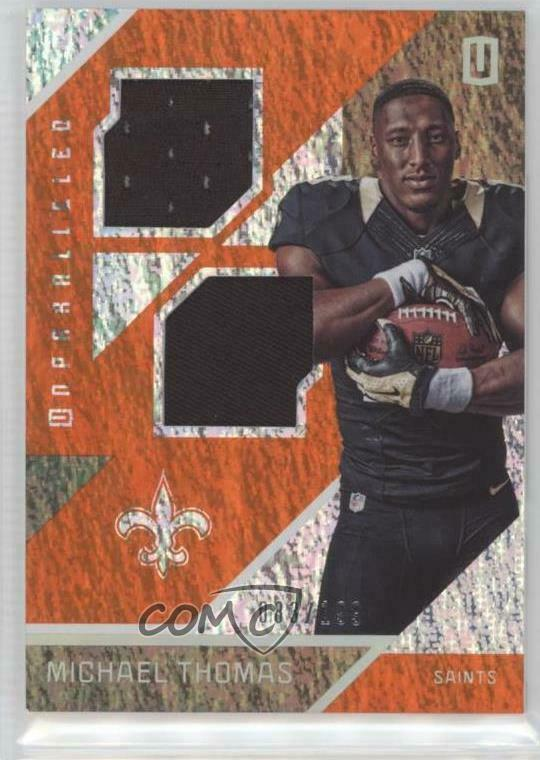 a8588c00 Details about 2016 Panini Unparalleled RPS Rookie Materials Dual #RM-MT  Michael Thomas Card