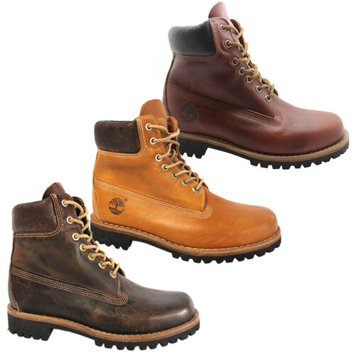 Timberland Earthkeepers Heritage Rugged Mens Boots Leather 6746R ... 7800deabff4b