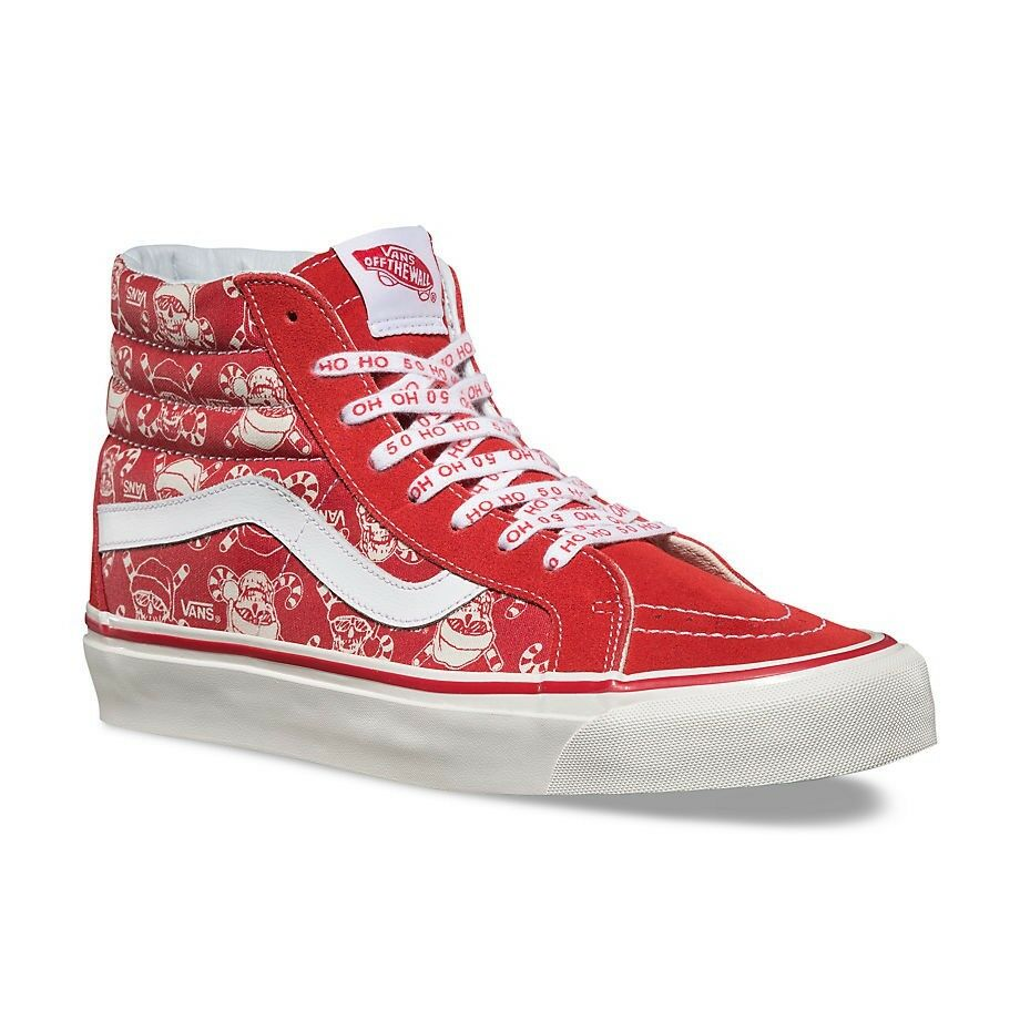Details about VANS Sk8 Hi 38 Reissue (50th) STV Pirate Santa Red Men s 6.5  Women s 8 002e96e87