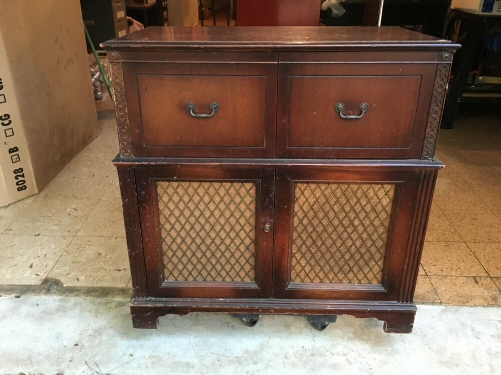 record player cabinet stromberg carlson radio record player console ebay 25144