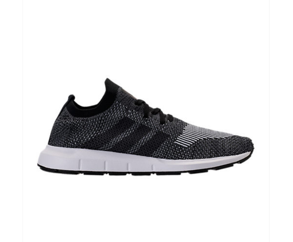 adidas originals swift run primeknit trainers in black cq2889