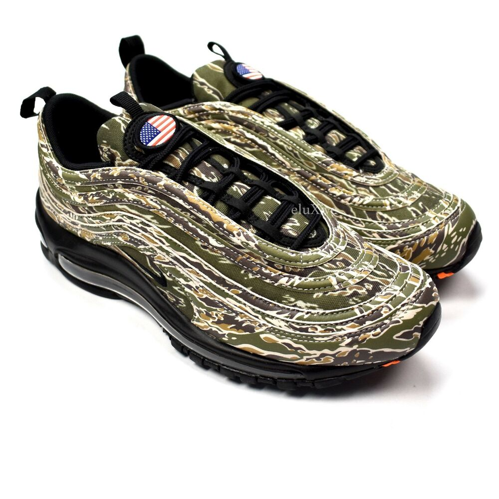 d214649b6bdc Details about NWT Nike Air Max 97 Country Camo USA American Flag Men s  Sneakers 2017 AUTHENTIC