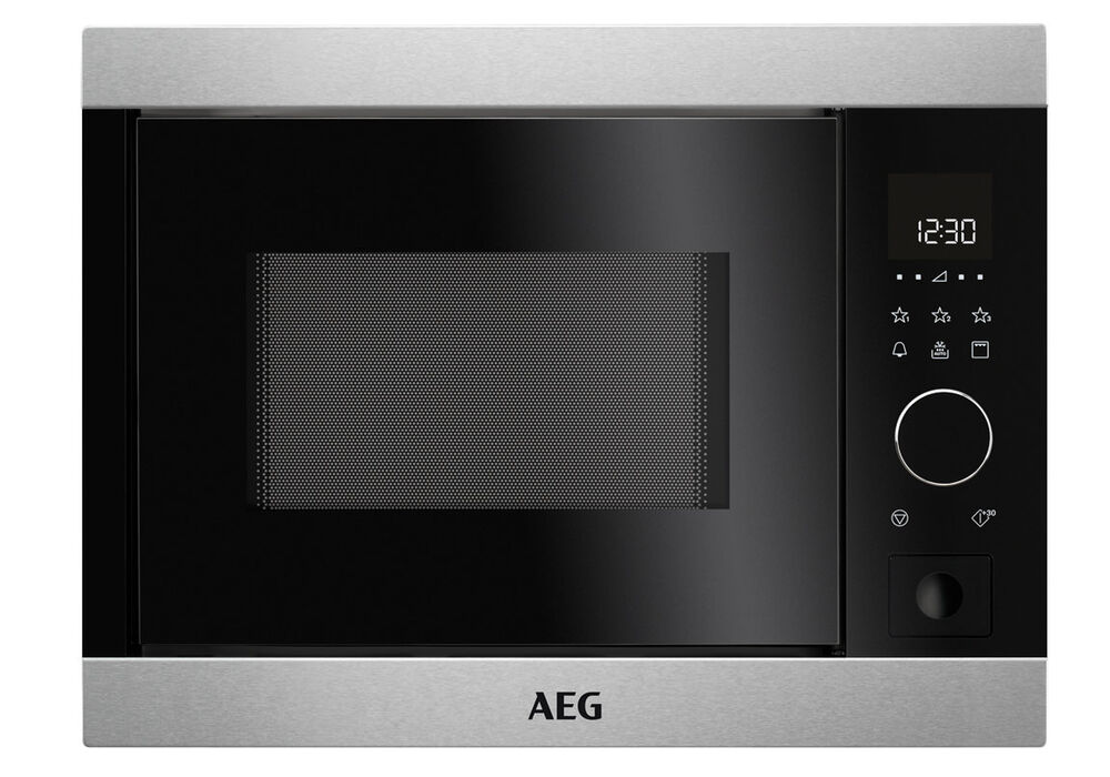 aeg mbb1755dm einbau mikrowelle 800 watt grill f r h ngeschrank 50 cm ebay. Black Bedroom Furniture Sets. Home Design Ideas