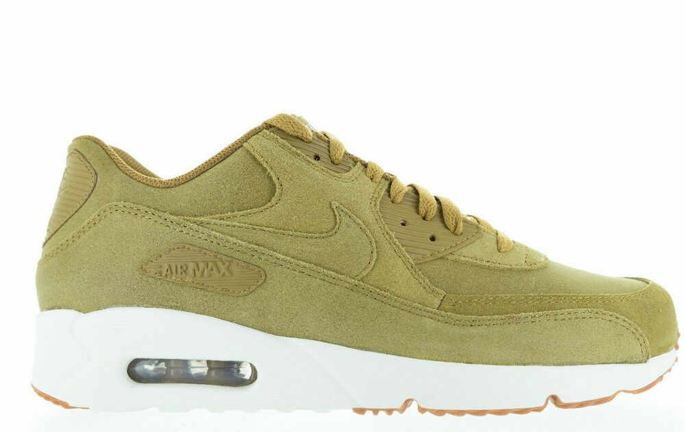 Details about NIKE AIR MAX 90 ULTRA 2.0 LTR 924447 200 FLAX FLAX-SAIL-GUM  MED BROWN DEADSTOCK aca72f02d