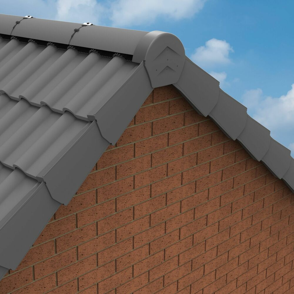 Universal Manthorpe Dry Verge System For Gable Apex Roof