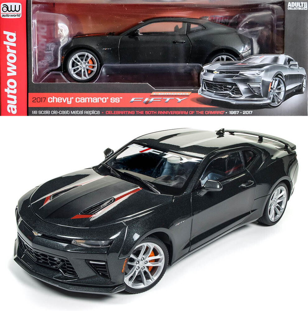 2017 Chevy Camaro SS FIFTY 50th Anniversary Chevrolet 1:18 Auto ...