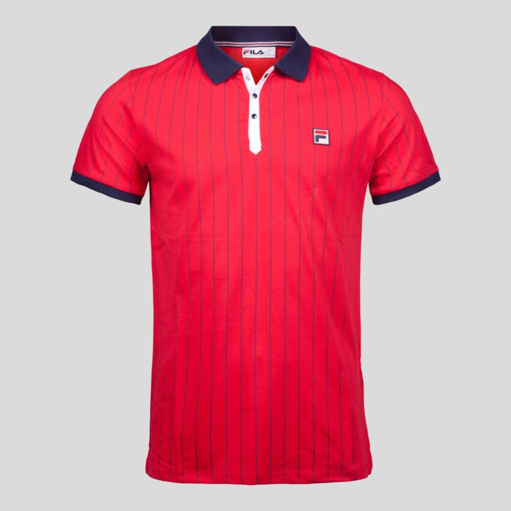 f44eeb79f7c6 Fila Vintage Polo Shirt In Towelling – EDGE Engineering and ...