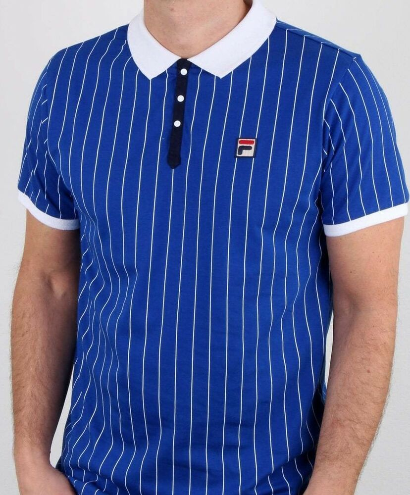 4c9eae6012c Fila Vintage Polo Shirt In Towelling | Top Mode Depot