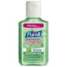 Purell Advanced Hand Sanitizer Refreshing Aloe 2 oz (Pack of 2)