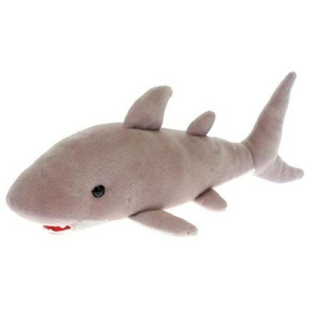 Great White Shark Plush Toy 16 91671733229 Ebay