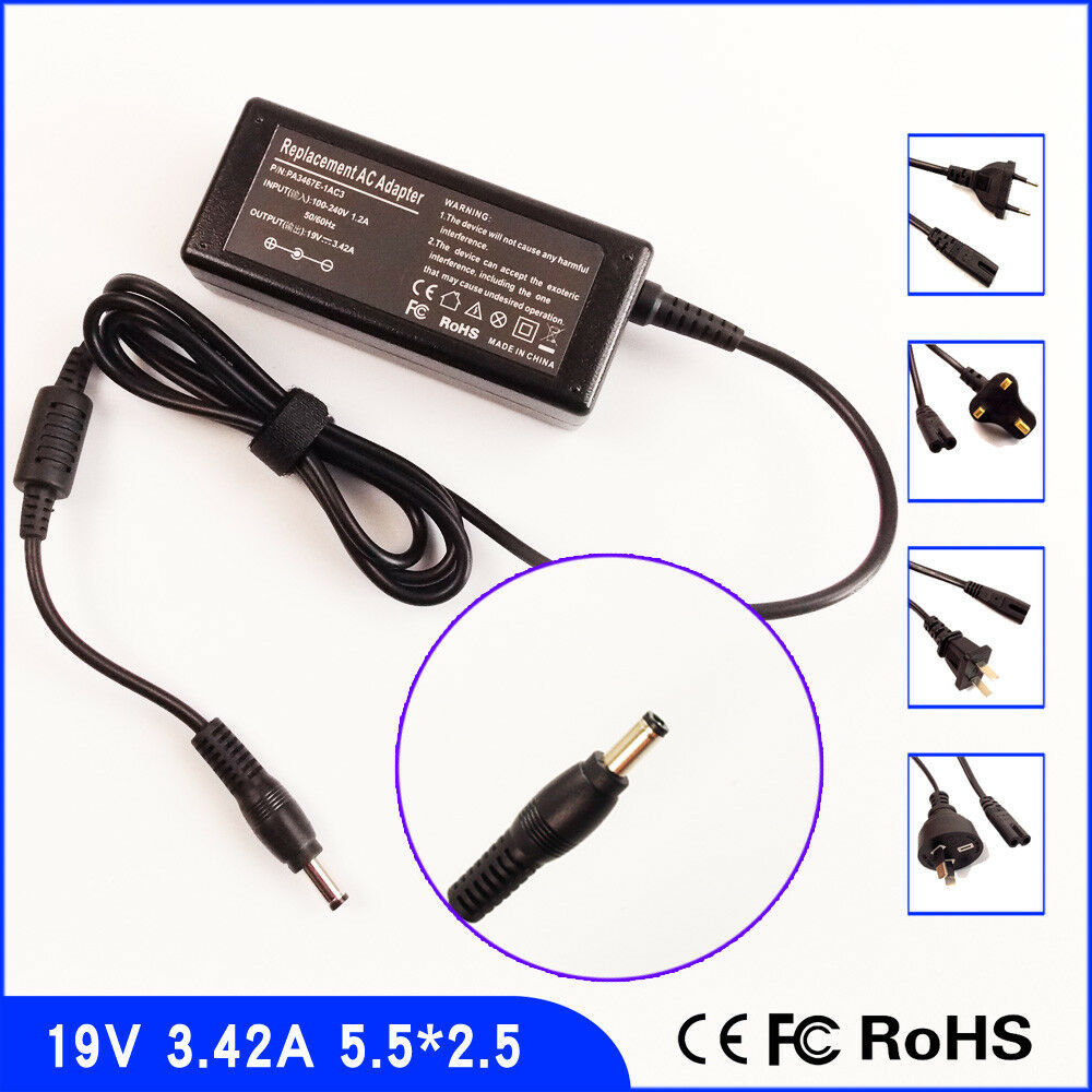 New AC Adapter Charger For Toshiba Satellite L755-S5110 L755-S5112