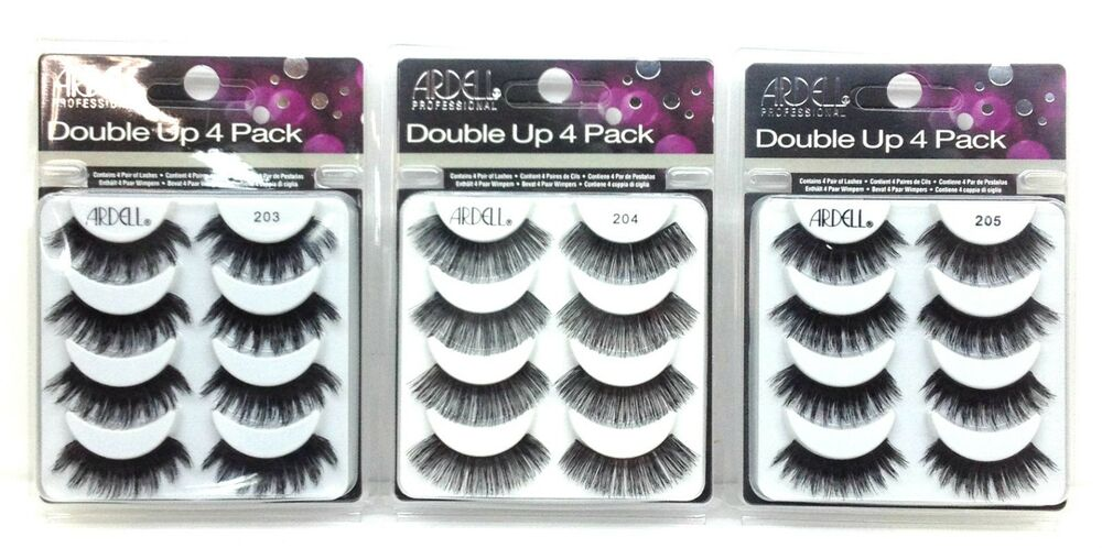 58088d3e31a Details about ARDELL - Double Up / Mega Volume 4 Pack - Choose Your Style