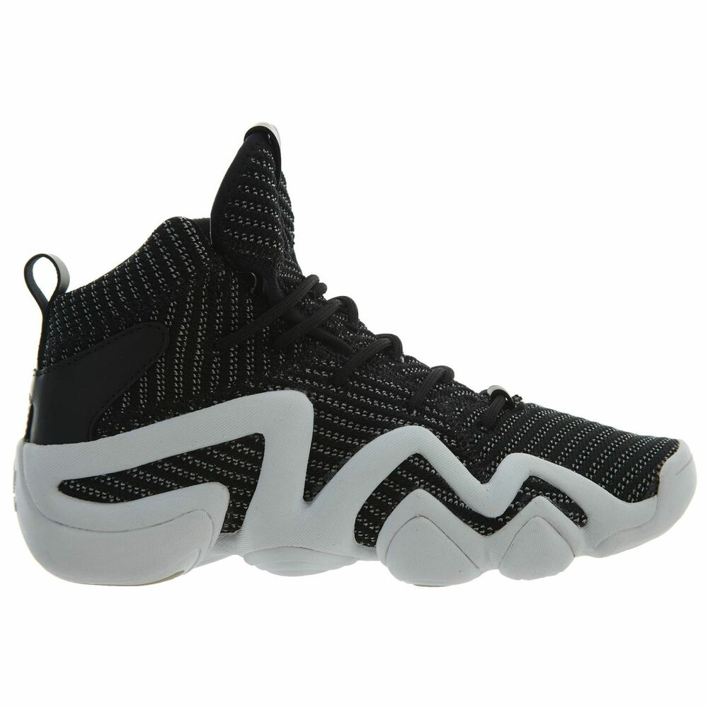 competitive price 5a656 92b29 Details about Adidas Crazy 8 ADV Primeknit Mens BY4423 Black White  Basketball Shoes Size 7