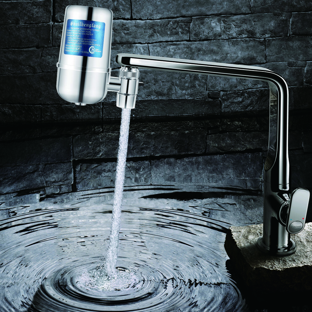 Tap Faucet Water Filter Purifier System Kitchen Faucet Mount Cleaner ...