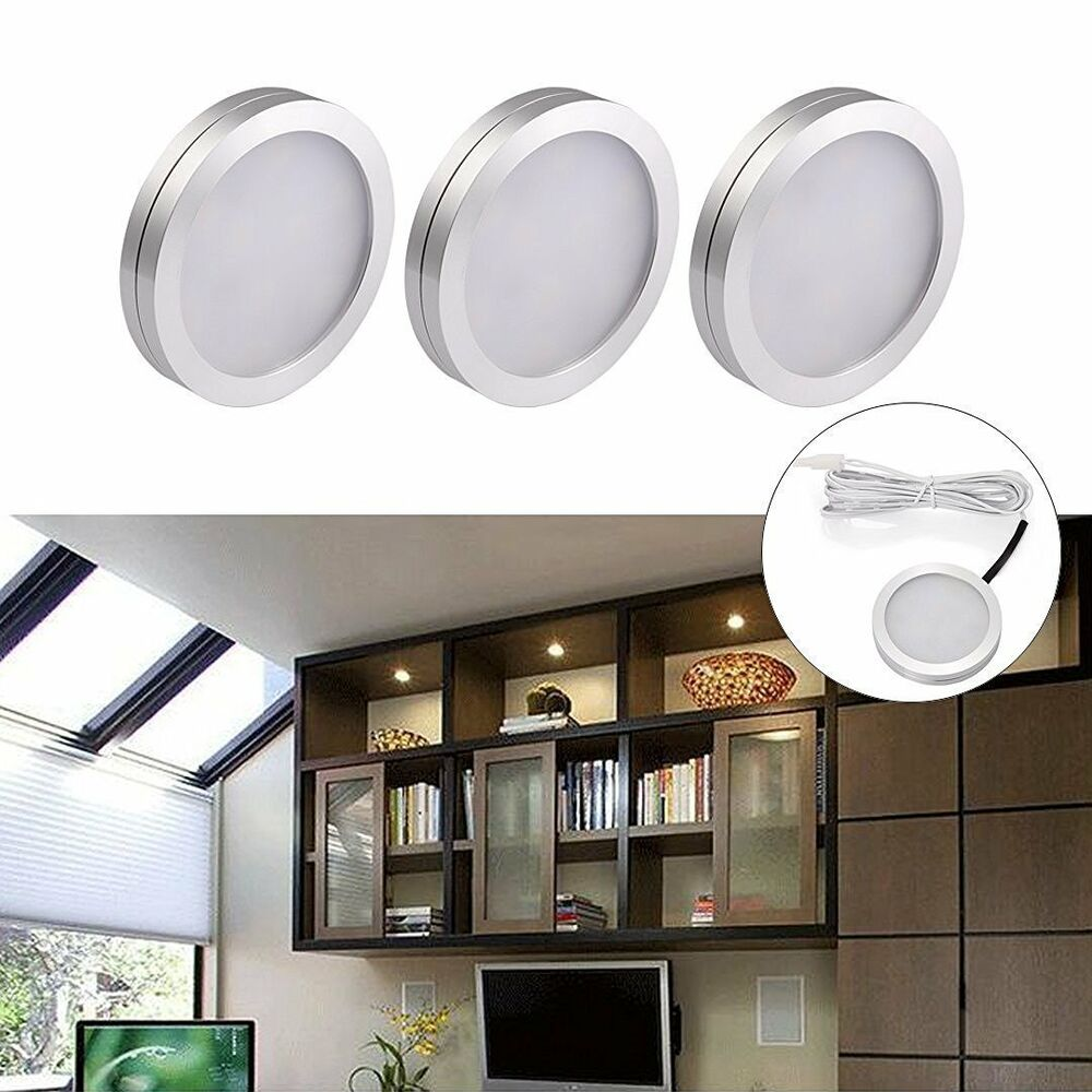 3 Pack Kitchen Bright LED Under Counter Cabinet Lighting