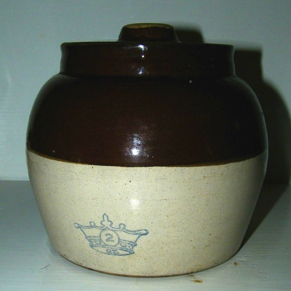 Bean pot with mexican on bottom necessary