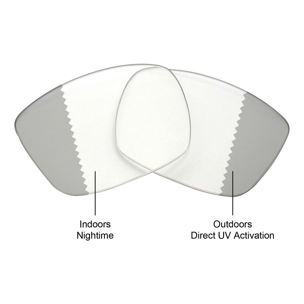127150a2e55 Mryok Replacement Lens for Spy Optic Discord Sunglass Eclipse Grey  Photochromic
