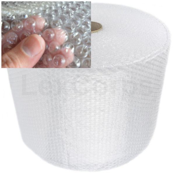Bubble Cushioning Wrap, Small Medium Large 175 350 700 ft Roll Perforated 12