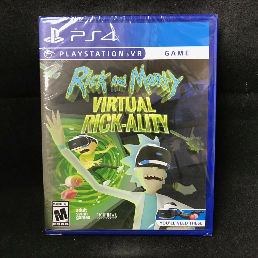 Rick and Morty: Virtual Rick-ality on PS4 | Official ...