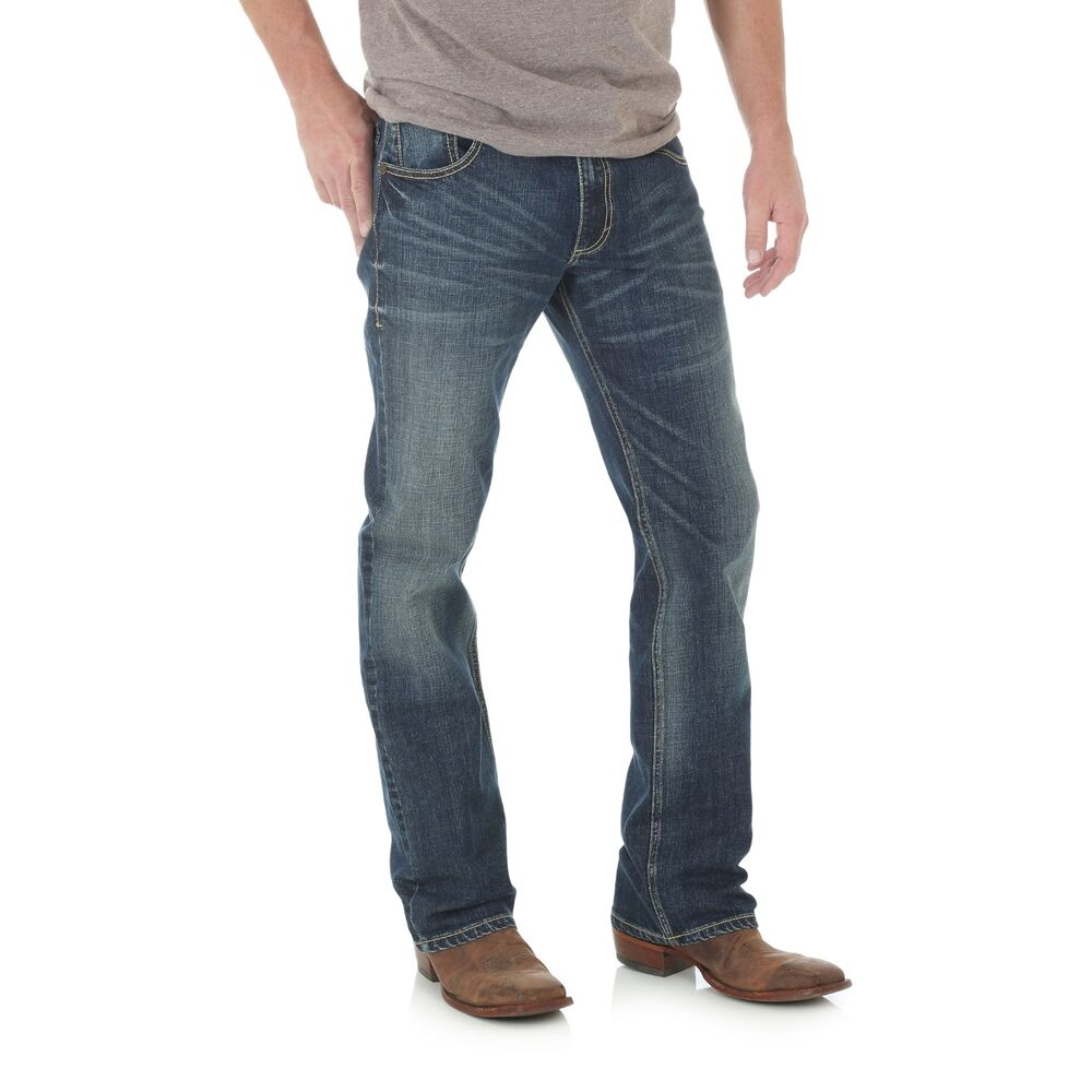 ac4d68d0 Details about Wrangler Men's Layton Retro Limited Edition Slim Boot Jeans  WLT77LY
