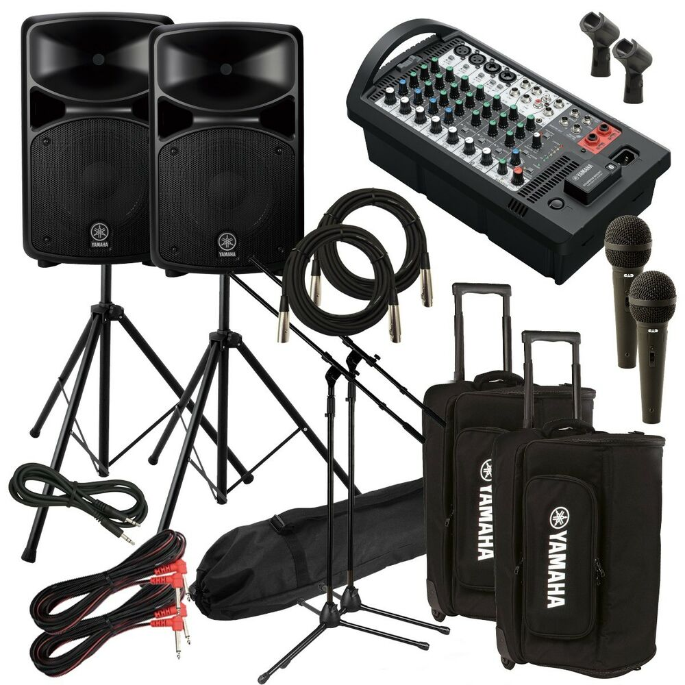 yamaha stagepas 600bt portable pa system audio essentials. Black Bedroom Furniture Sets. Home Design Ideas