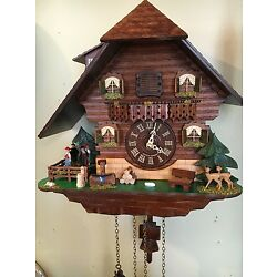 Kyпить Hermle Heidelberg Cuckoo Wall Clock by Hermle model # 45000 на еВаy.соm