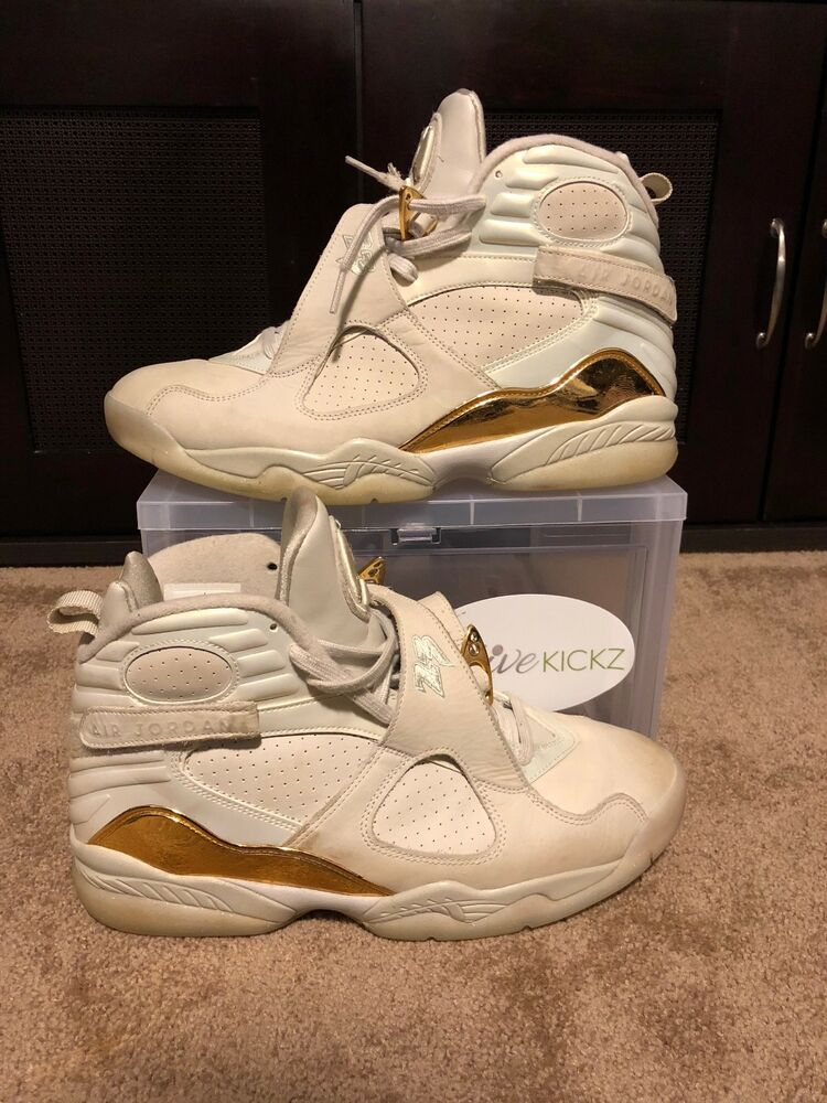 cb8788fc365 Details about Air Jordan 8 Champagne Size 11 USED