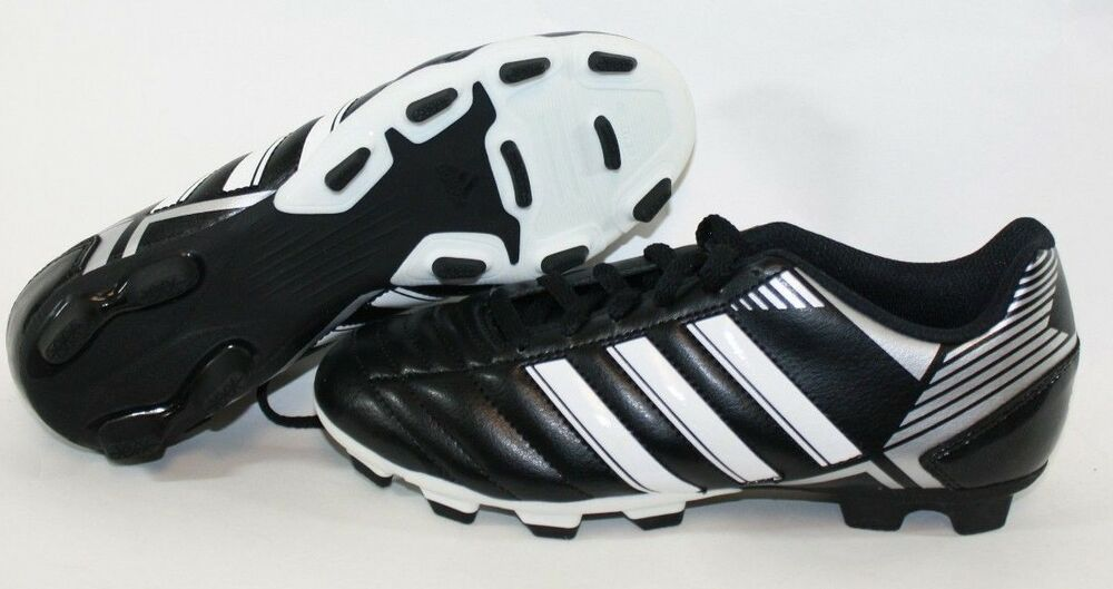 2e8be8fbb Details about NEW Youth Boys Kids ADIDAS Puntero VIII TRX FG G65135 Black Soccer  Cleats Shoes