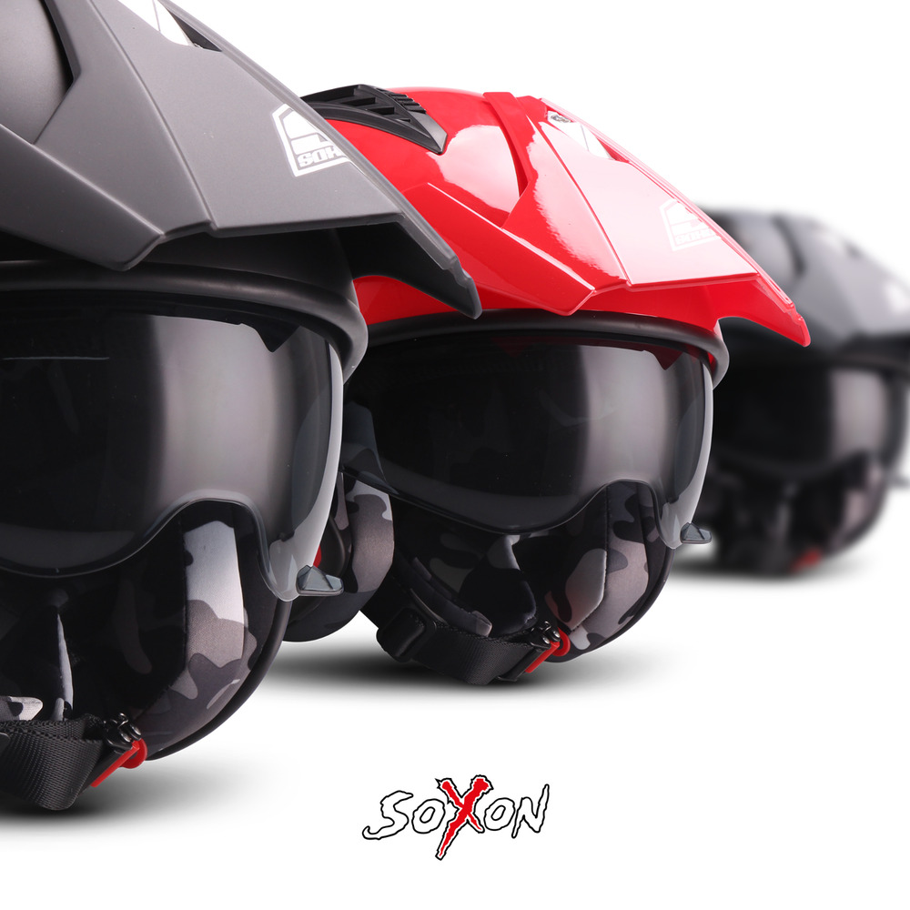 soxon sr 400 mono jet helm motorrad helm roller scooter. Black Bedroom Furniture Sets. Home Design Ideas