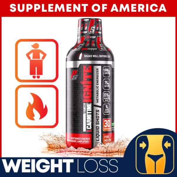 ProSupps L-Carnitine Liquid 1500mg - Fat Loss Boost Metabolism
