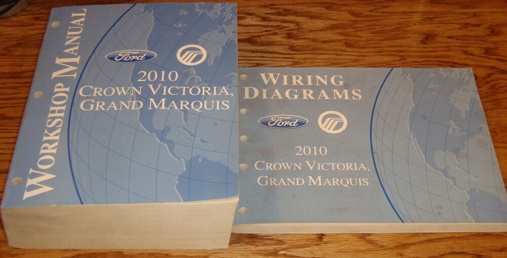 2010 Ford Crown Victoria Mercury Grand Marquis Shop Service Manual   Wiring Set