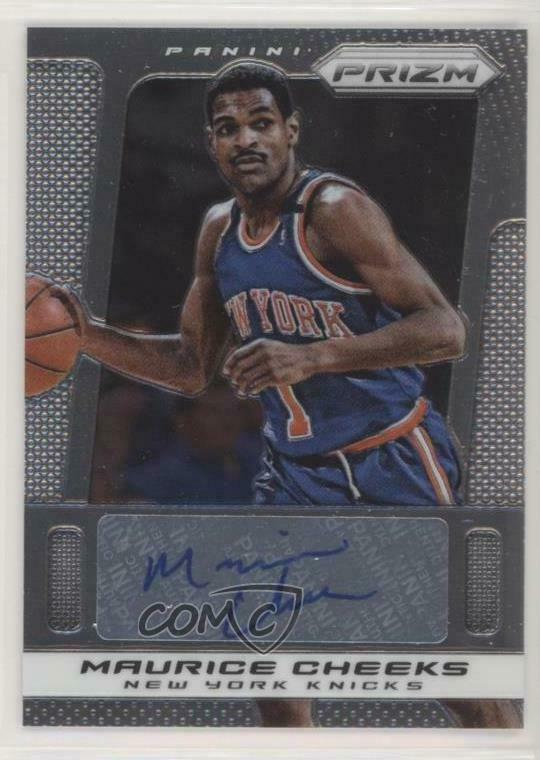 cd93ea390116 Details about 2013-14 Panini Prizm Autographs  154 Maurice Cheeks New York  Knicks Auto Card