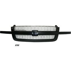 Kyпить Grille Assy Paint to Match with Gray Insert For 2003-07 Chevy Silverado Old Body на еВаy.соm