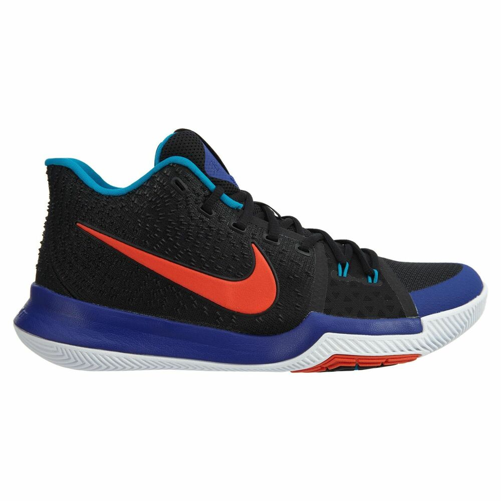 85103cda528e Details about Nike Kyrie 3 Kyrache Light Mens 852395-007 Black Concord  Orange Shoes Size 12