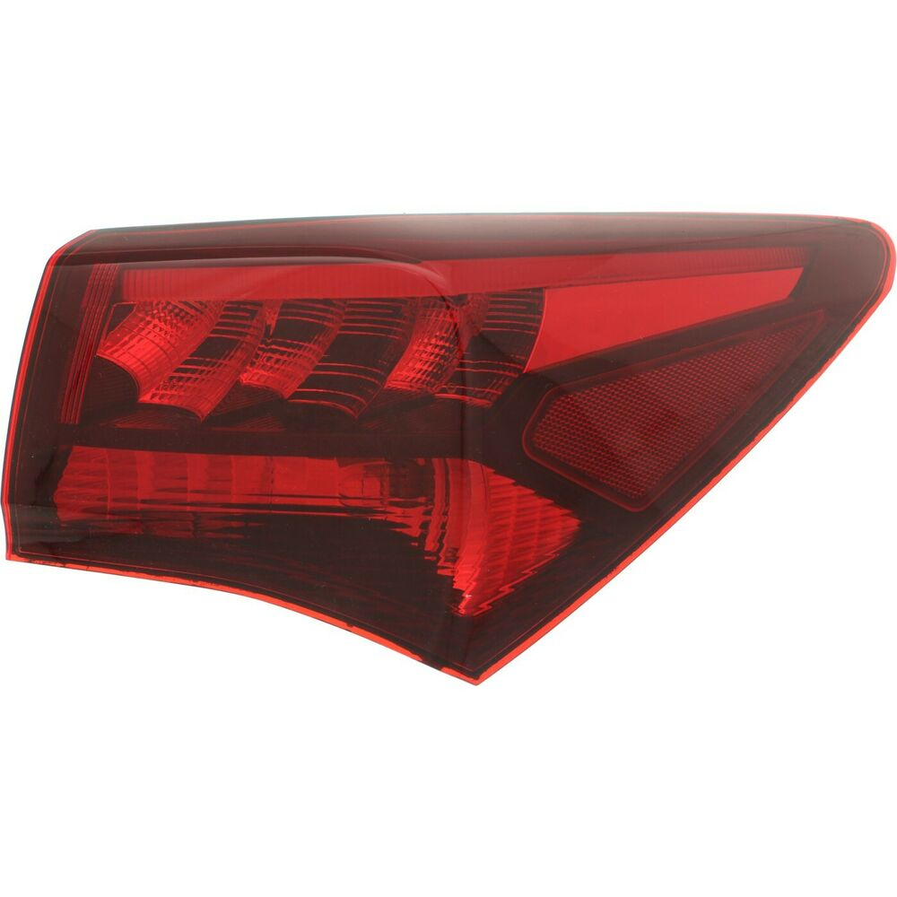Halogen Tail Light For 2015-2017 Acura TLX Right Red Lens