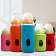 Cute Nurser Baby Feeding Bottle Warmer Thermal Insulate Cup Cushion Bag