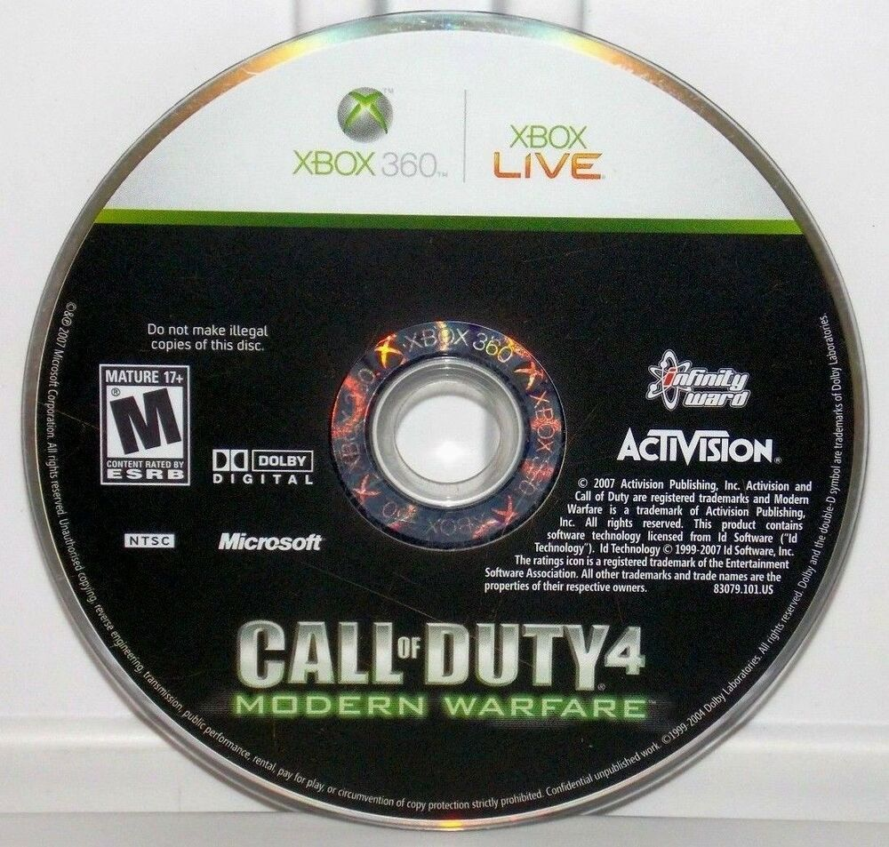 Call Of Duty Xbox 360 Lot Of 4 Games; World At War ...