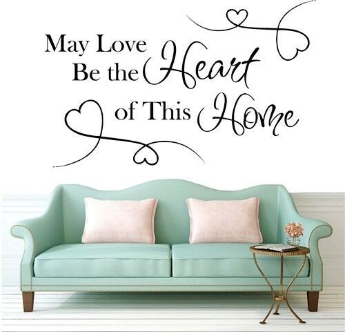 may lowe be the heart of  wall sticker next decals room removable