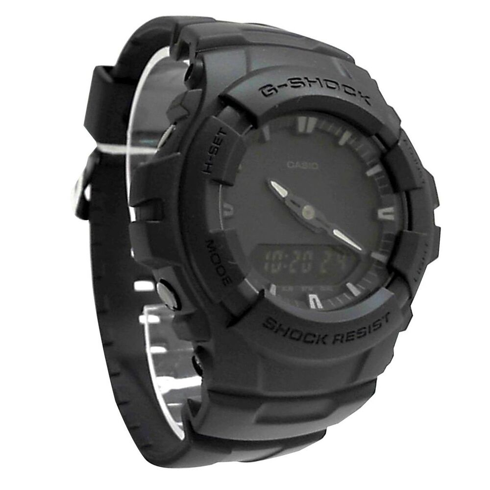 26f99f10c5d3 Details about Casio G-shock Men s Black Out Series Analog Digital watch  G100BB-1A