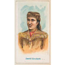 :David Crockett from the Wild West Caramels series for the A-16x12