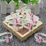 Unicorn Wristband Glowing Bracelet Kids Child Toy Party Bag Fillers Favours Gift