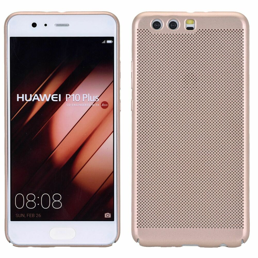best authentic 63c09 5ef7d Huawei P10 plus Hard-Case Phone Case Protective Cover Bumper Gold Matte  4251504810220 | eBay