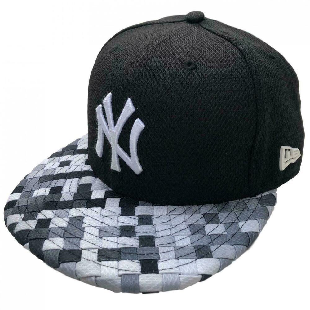 Details about New Era New York Yankees Baseball Cap NY Woven Brim Snapback 9Fifty  MLB e5449d80ab