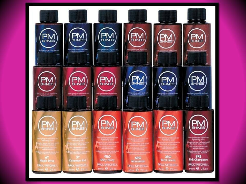 Paul Mitchell Demi Permanent 2 Oz Hydrating Hair Color Pm Shines 6bv
